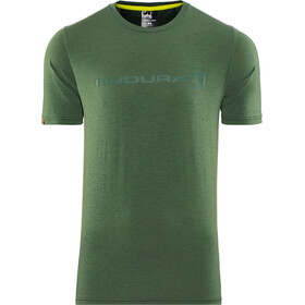 Endura SingleTrack Merino T-Shirt Heren, forestgreen